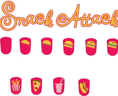 Nail clipart step on Snack Attack art Snack Art