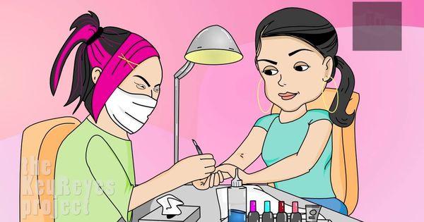 Nails clipart animated Anjelah Salon