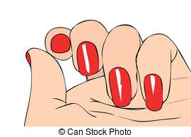 Nail clipart female hand Hand of Female Female nail
