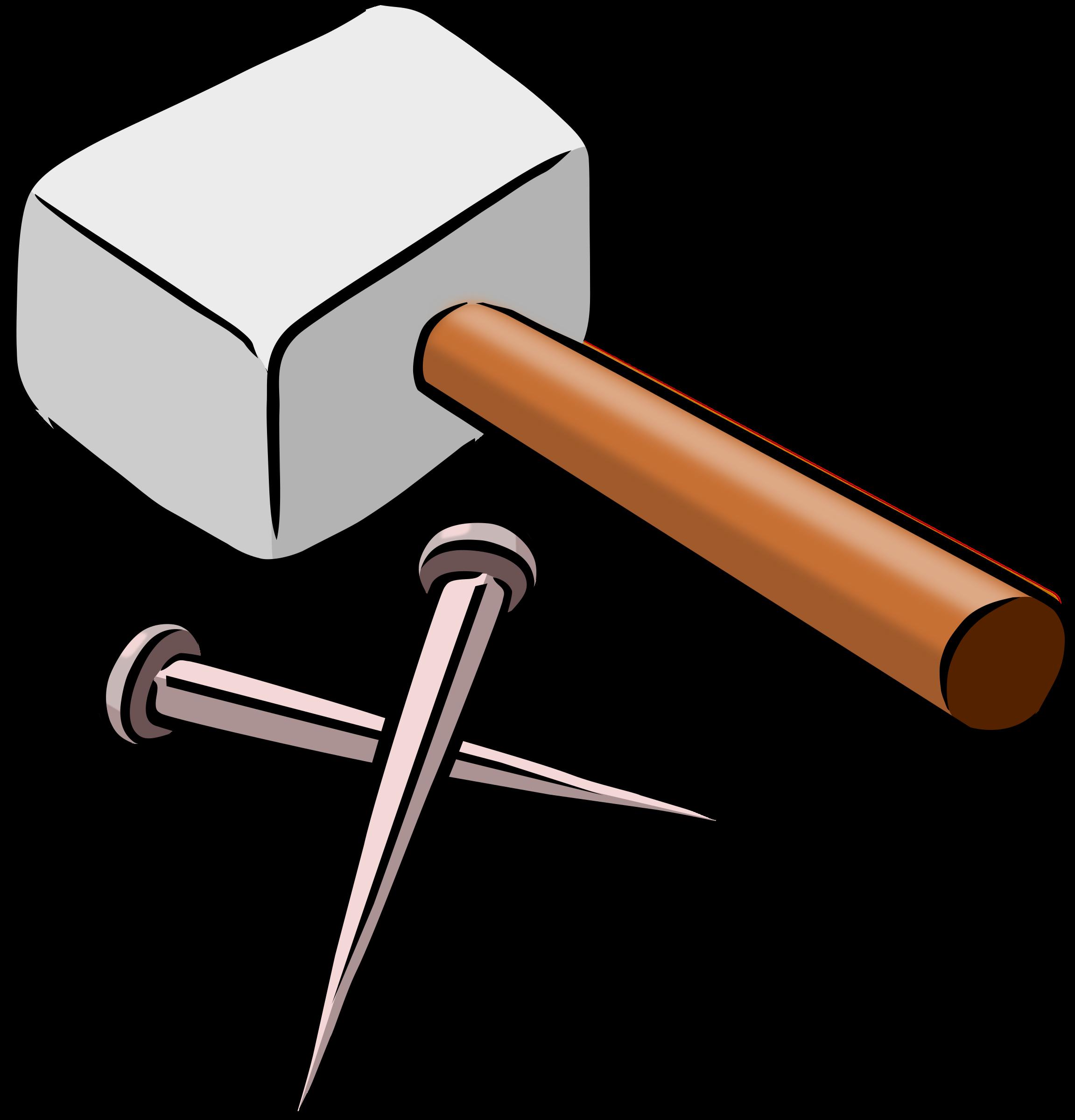 Nails clipart hammer And Clipart Nails Nails Hammer