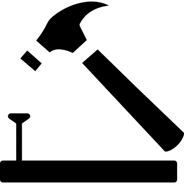 Nails clipart hammer And Vectors outline PSD on