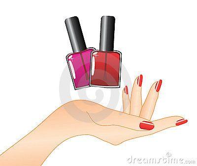 Nails clipart hand nail 7 art nail on hand