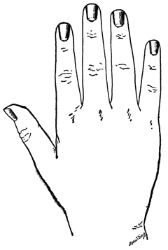 Nails clipart hand nail By the tip for A