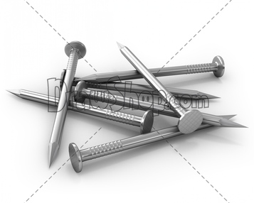 Nail clipart iron nail #5
