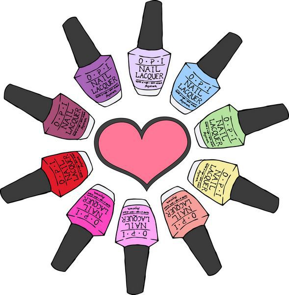 Nails clipart kid Nail Design Polish Custom Clipart