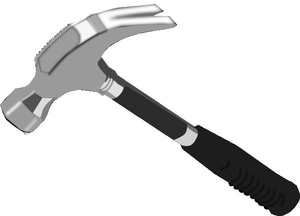 Vector clipart hammer #3