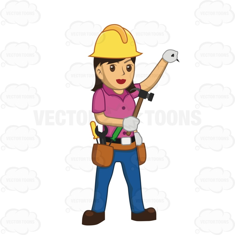 Nail clipart female hand One Holding A Female In