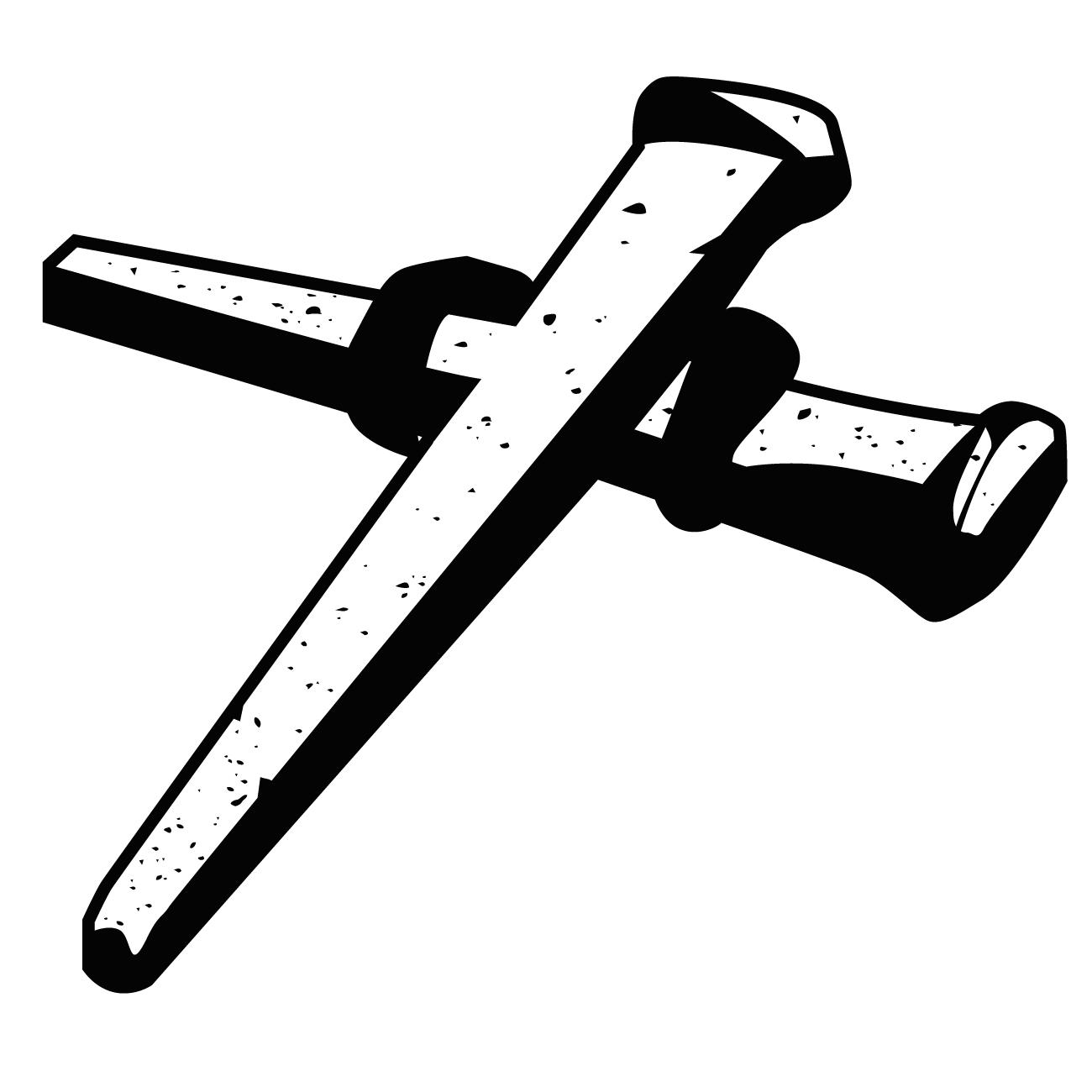 Nails clipart lent Of Art Graphics: Cross Clip