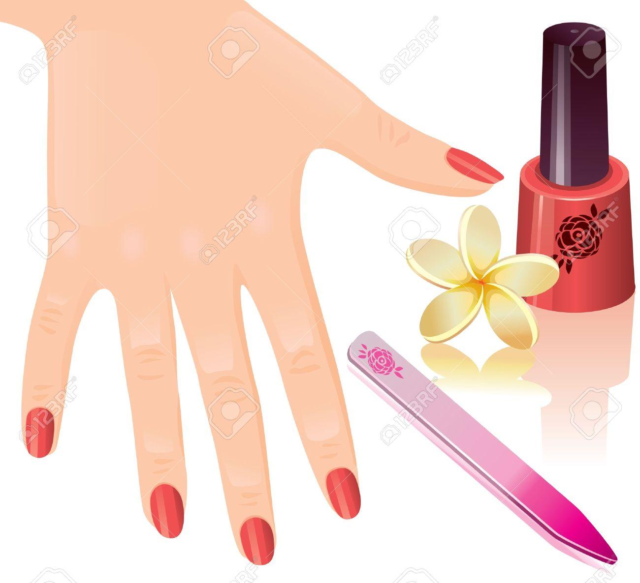 Nails clipart manicure 110 Clipart #1 Clipart Tiny
