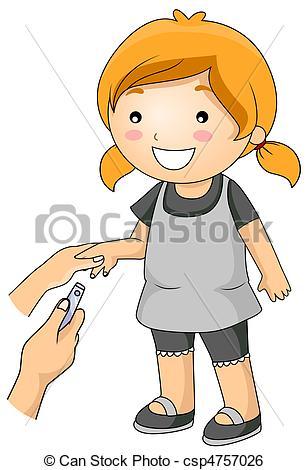 Nail clipart nail cutting #2