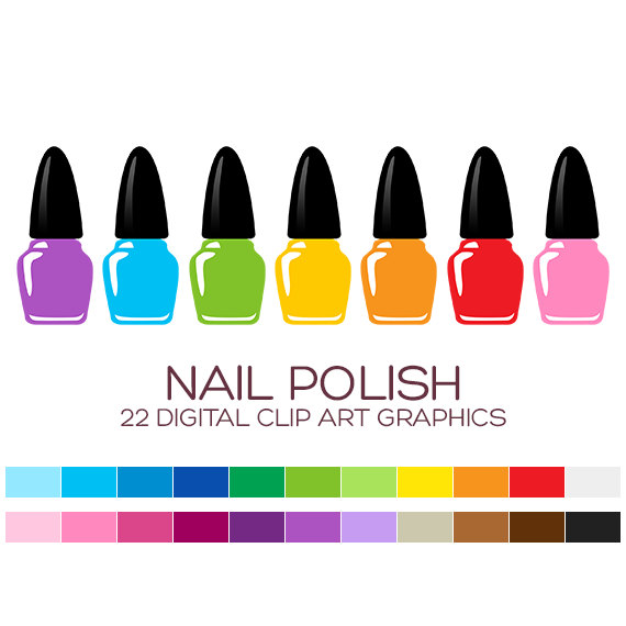 Nails clipart nail polish Art Nails clipart  Painting