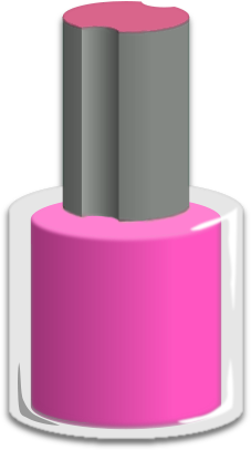 Nail clipart nail paint A Nail fingers the applied