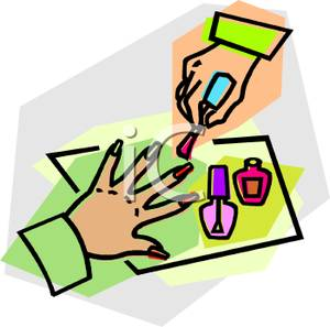 Painting clipart fingernail Free Clipart Clipart Clipart Manicure
