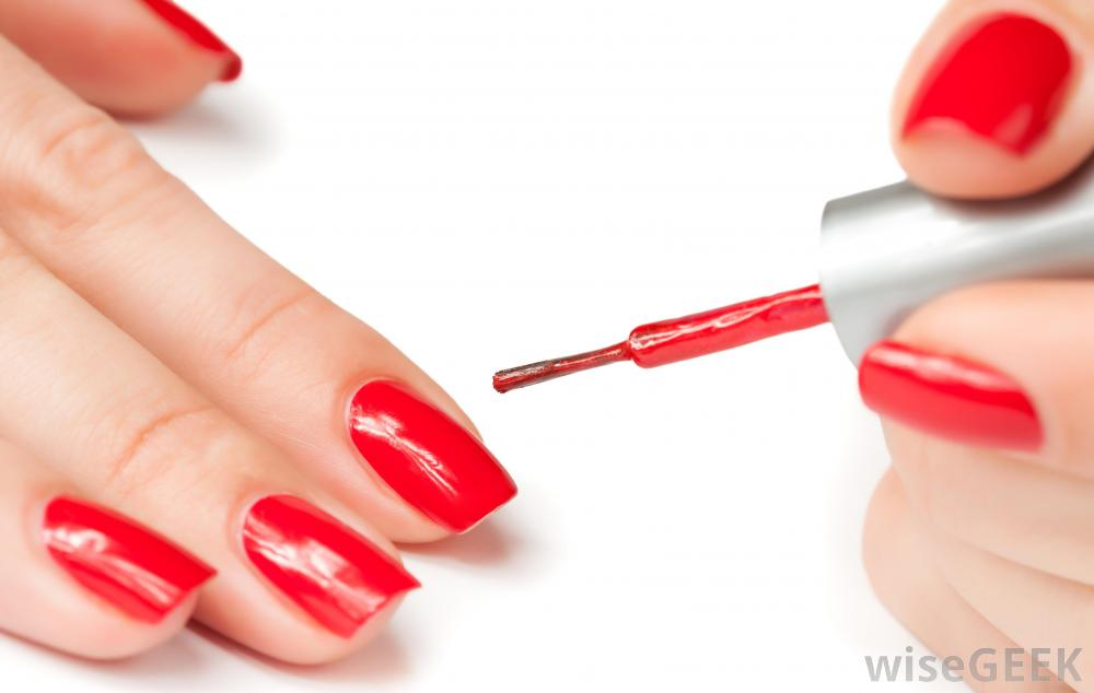 Painting clipart fingernail Spots polish reaction to might