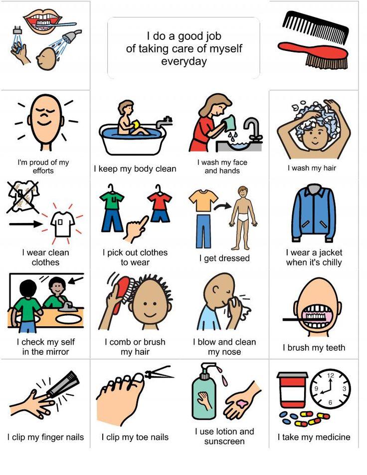 Choice clipart life skill Ideas Personal Pinterest Stories hygiene