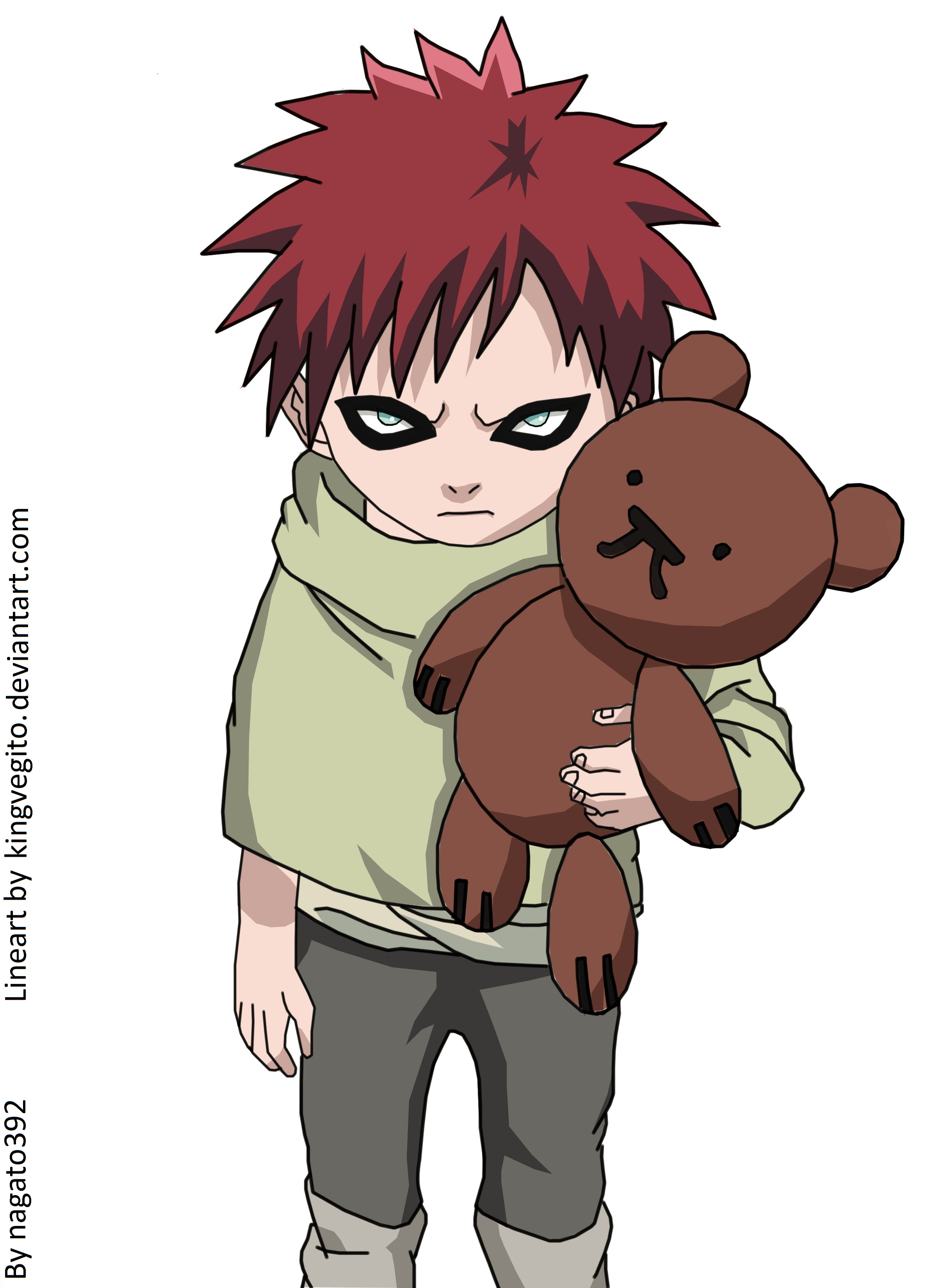 Naruto clipart chibi *Correction little gaara little Gaara