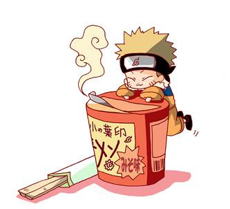 Naruto clipart chibi ramen Is best via ramen neji