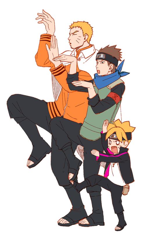 Naruto clipart cute Boruto: BORUTO THO (LOOKIT haha