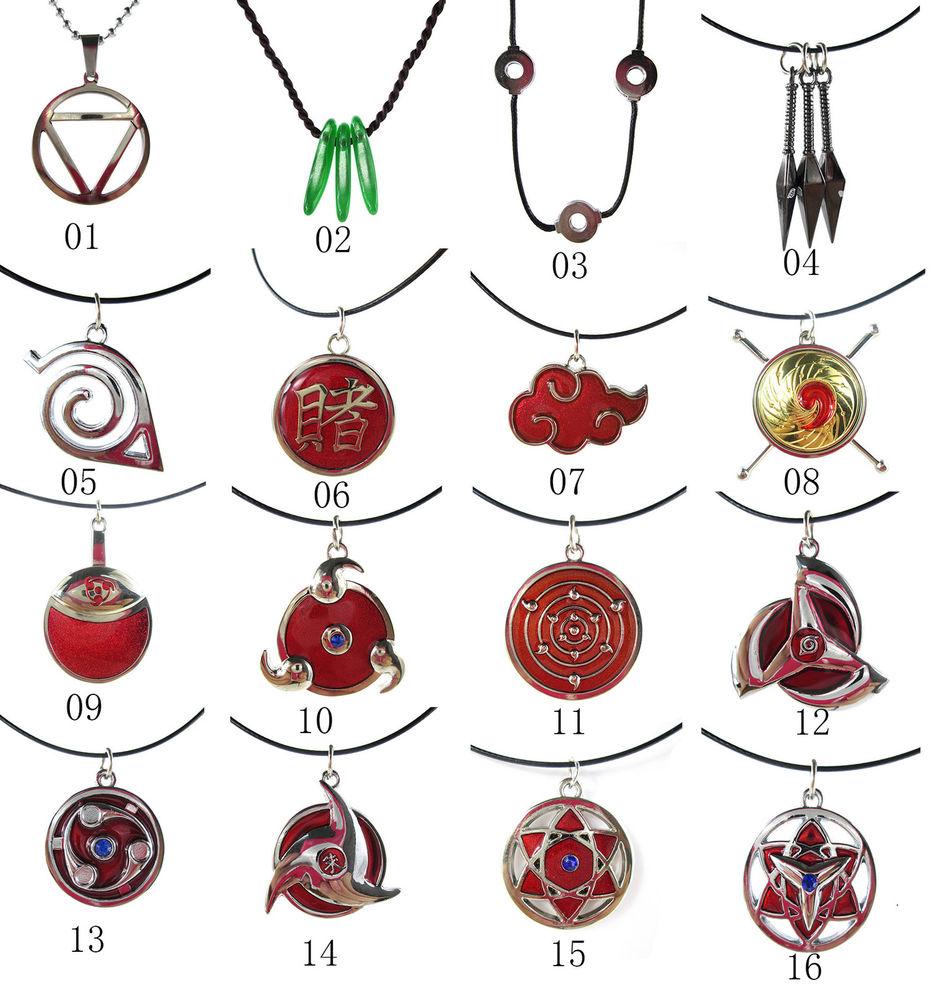 Naruto clipart necklace Naruto Hidan Kunai Madara Red