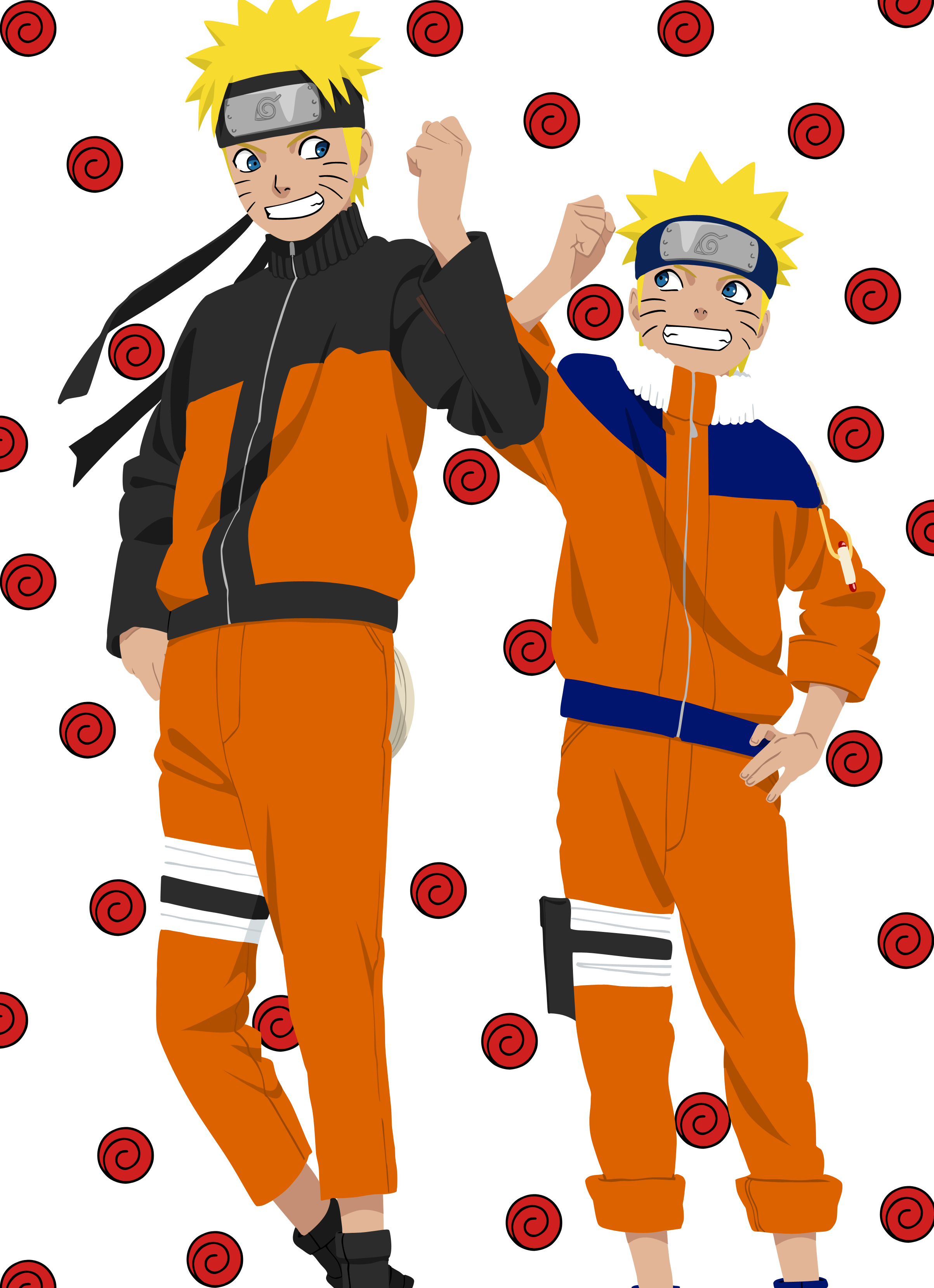 Naruto clipart only On by Uzumaki afte and