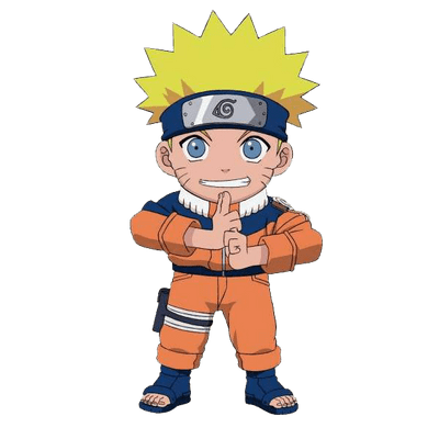 Naruto clipart only Ball StickPNG PNG Naruto Throwing