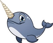 Narwhal clipart Clipart Narwhal Graphics Vector Marine