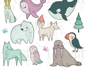 Baby Animal clipart arctic animal Animal Animals Clipart Winter Images