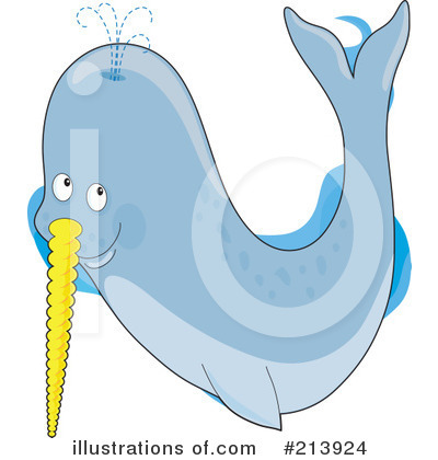 Narwhal clipart cute Narwhal by #213924 (RF) Narwhal