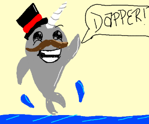 Narwhal clipart drawn Tophat & SpoOOooOOky Skeletons with