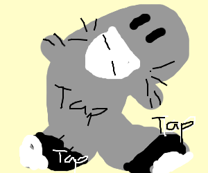 With Dapper Tap dancing shiny