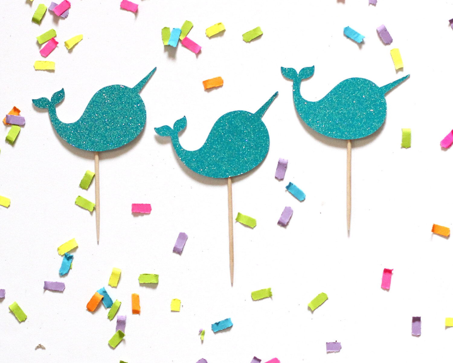 Narwhal clipart happy birthday #4