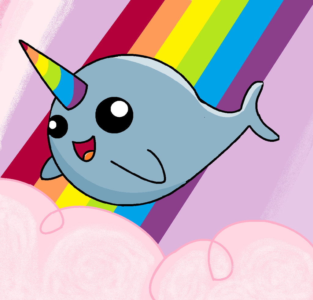 Narwhal clipart magical DeviantArt by awesomness! by narwhal