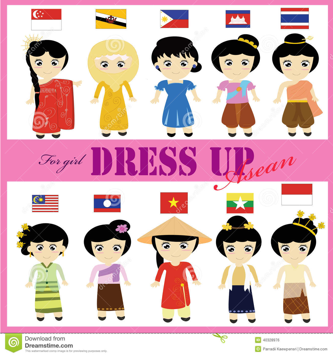 National Dress clipart #9