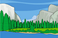 National Park clipart Pictures Search California Size: National