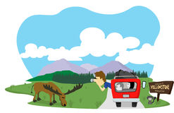Yellowstone clipart national park National Clipart parks national parks