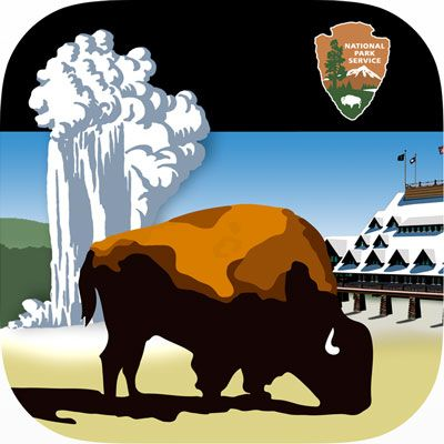 Yellowstone clipart national park Old of depicts Geyser images