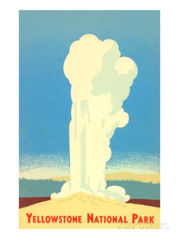 Yellowstone clipart Yellowstone (22+) faithful old Clipart