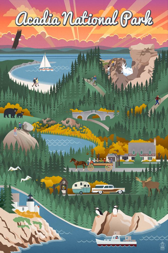 National Park clipart woods #7