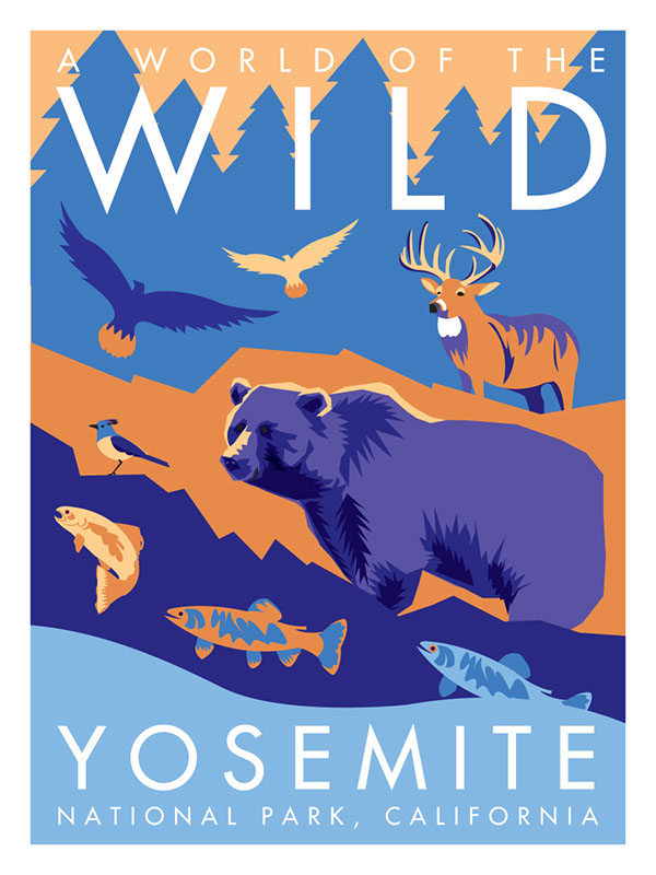 National Park clipart yosemite On my all Store poster