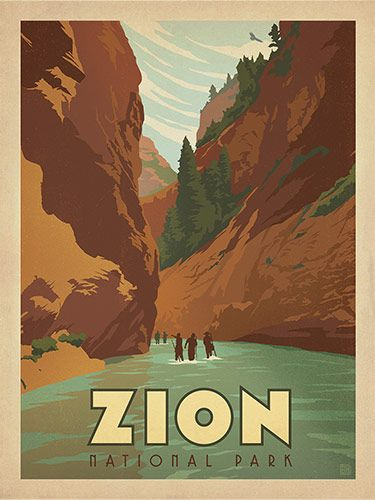 National Park clipart zions National posters National The Zion
