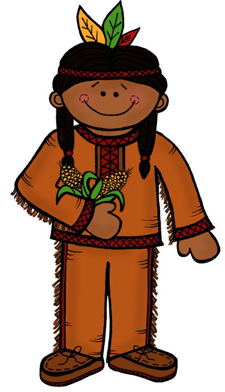 Native American clipart Thanksgiving native indian american Native