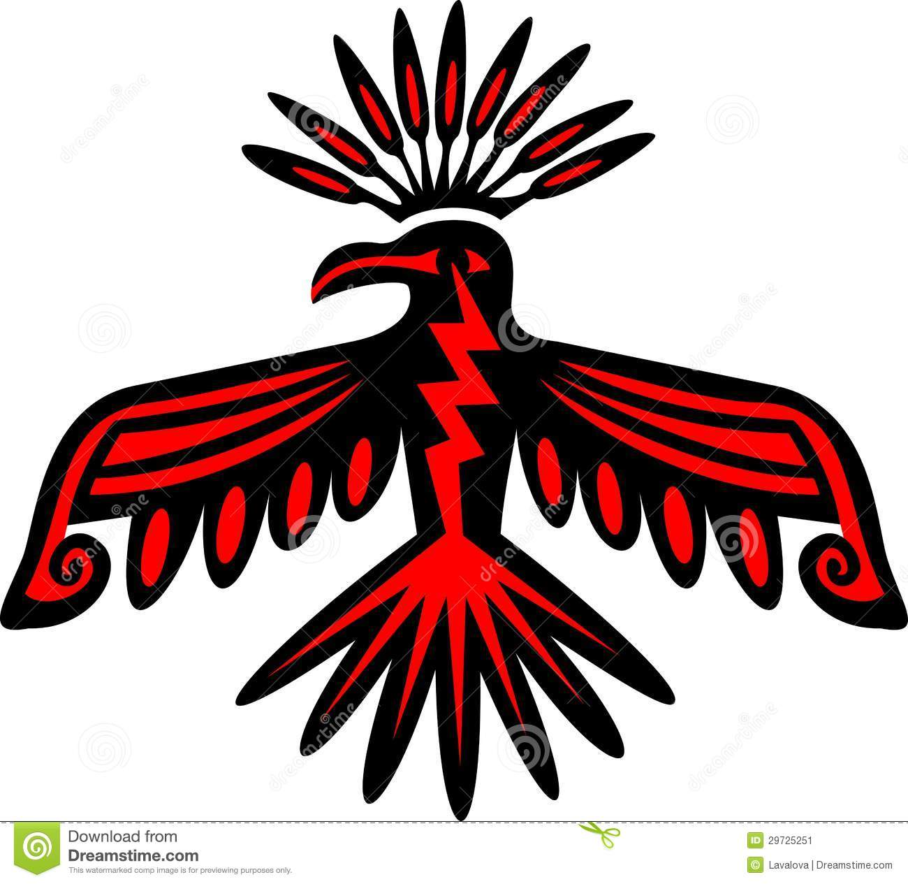 Native American clipart bird Com native com of Results