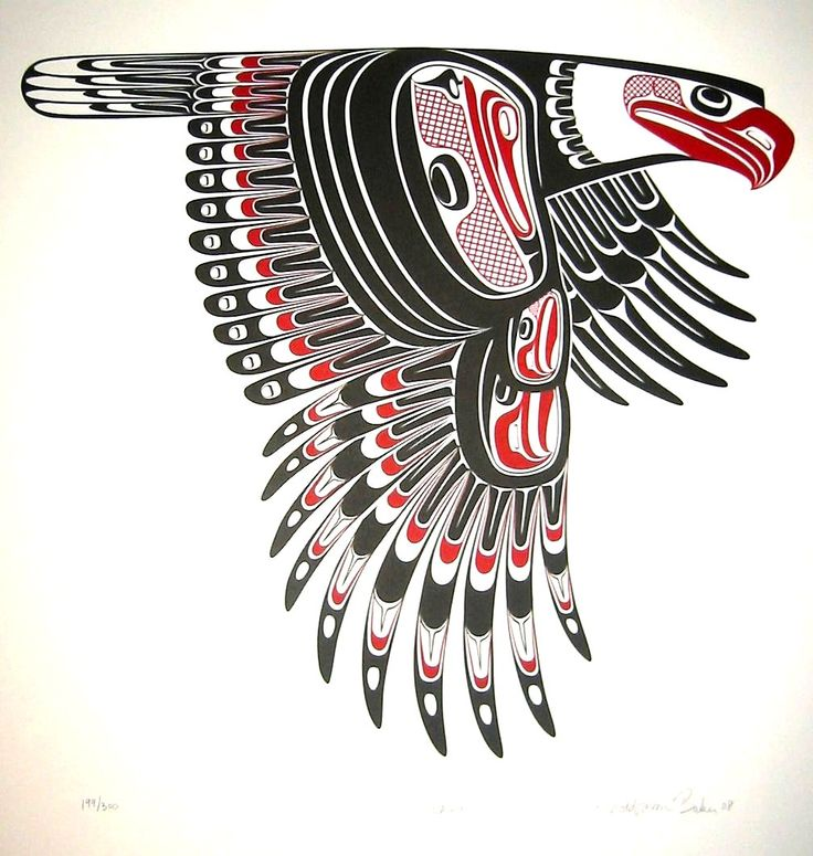 Native American clipart bird On about Borders American are