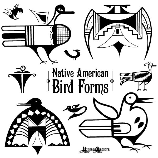 Native American clipart bird Patterns best Iconic 25+ Forms