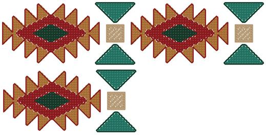 Native American clipart border  Art Native Free Designs