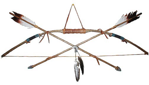 Native American clipart bow and arrow Indian Bows Arrows Art American