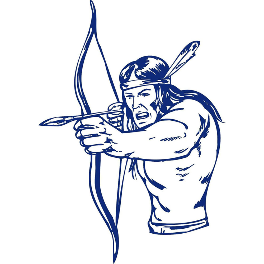 Native American clipart bow hunting Native Hunter Homes American Arrow
