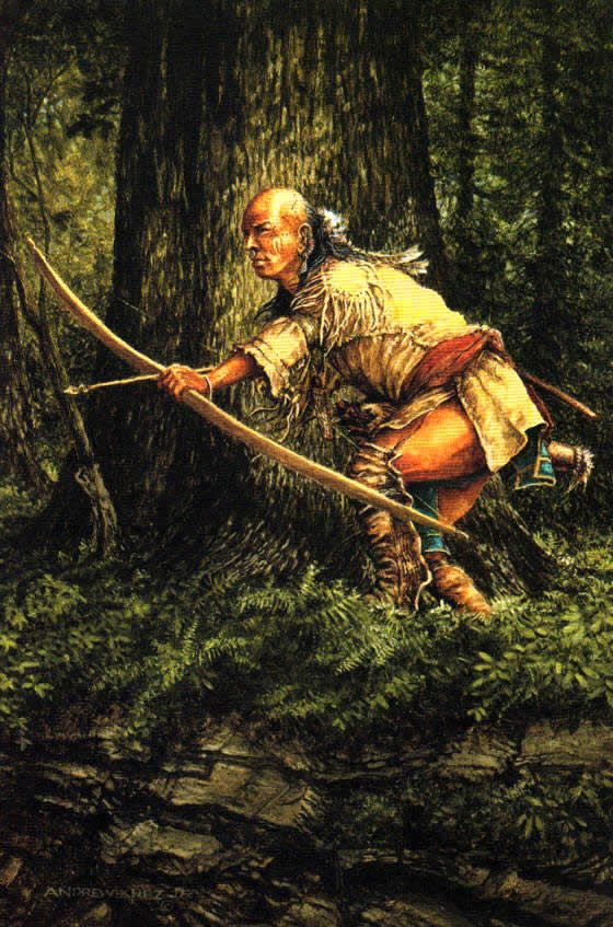 Native American clipart bow hunting 25+ Best WOODLAND Mohawk