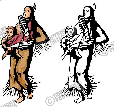 Native American clipart cooking Clipart CCB Indian Native Western