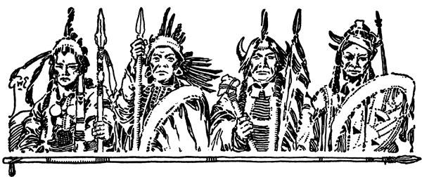 Native American clipart creek Native Chiefs Native Clipart American